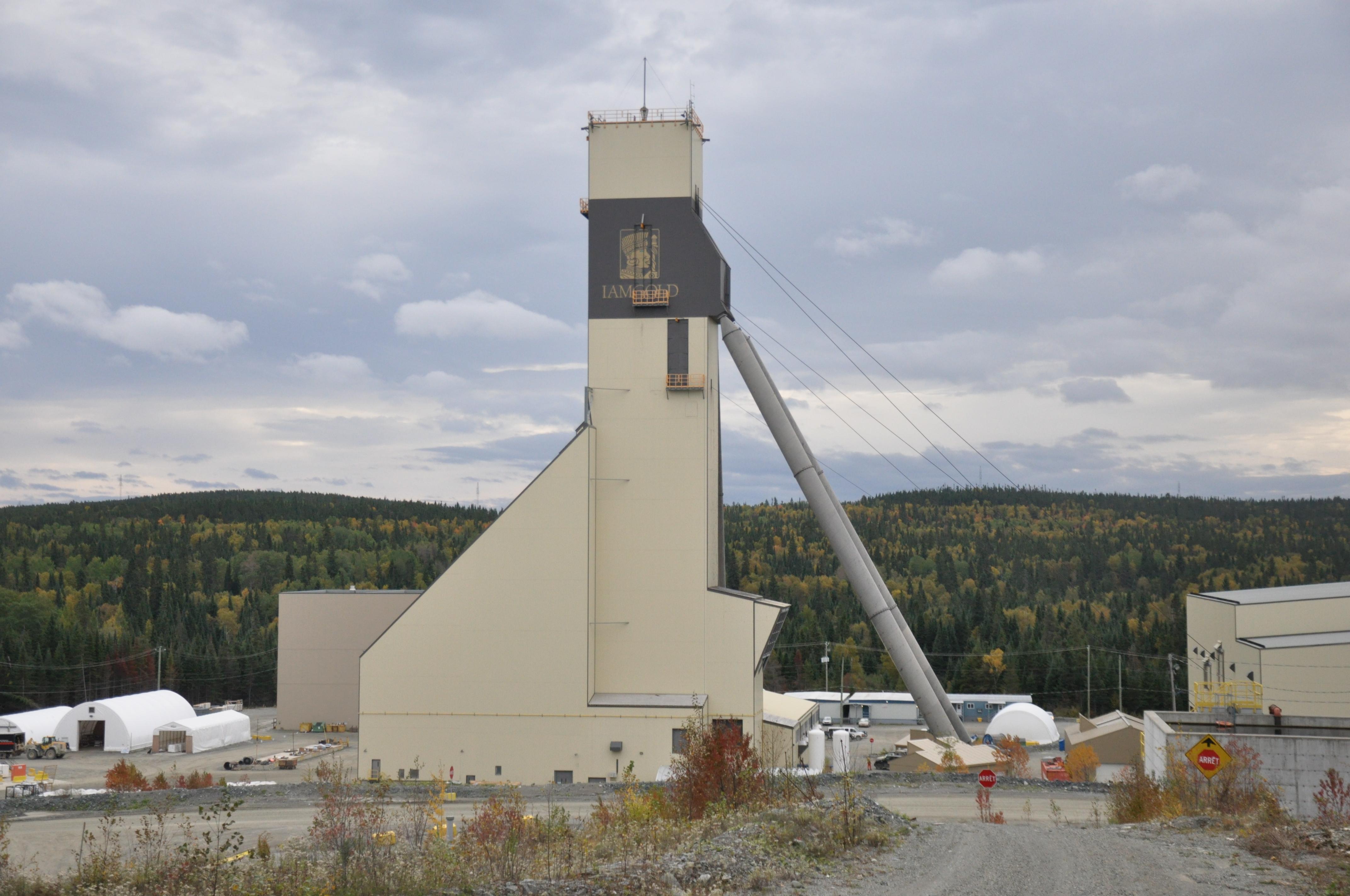 Si le projet Rouyn venait à se concrétiser, il pourrait devenir le satellite de la mine Westwood et la propriété d'Iamgold.